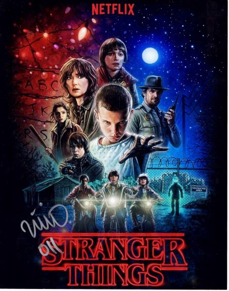 Millie Bobby Brown Signed - Autographed Stranger Things - Eleven 11x14 inch Photo with 011 inscription - Guaranteed to pass BAS
