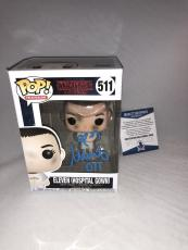 Millie Bobby Brown Signed Eleven Hospital Gown Stranger Things Funko Pop Bas 3