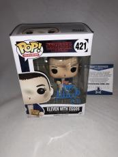 Millie Bobby Brown Signed Eleven W Eggos Stranger Things Funko Pop Bas Beckett 6