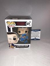 Millie Bobby Brown Signed Eleven W Eggos Stranger Things Funko Pop Bas Beckett 7