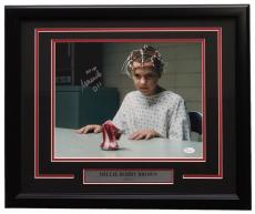 Millie Bobby Brown Signed Framed 11x14 Stranger Things Can Crush Photo JSA