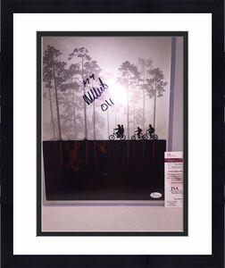 "MILLIE BOBBY BROWN SIGNED STRANGER THINGS 11x14 PHOTO JSA 5 ""ELEVEN"
