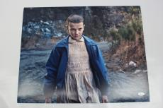 Millie Bobby Brown SIGNED STRANGER THINGS 16x20 Photo Eleven Autograph JSA COA 5