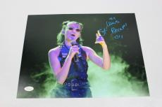 Millie Bobby Brown SIGNED STRANGER THINGS Eleven 11x14 Photo JSA AUTOGRAPH RAP