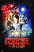 "Millie Bobby Brown Signed Stranger Things Full Size Poster With ""Eleven"" Inscription - Collage"