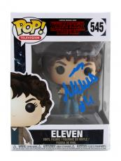 "Millie Bobby Brown Signed Stranger Things Funko Pop! #545 Action Figure With ""Eleven"" Inscription"