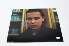 Millie Bobby Brown SIGNED STRANGER THINGS S2 Eleven 11x14 Photo JSA AUTOGRAPH 4
