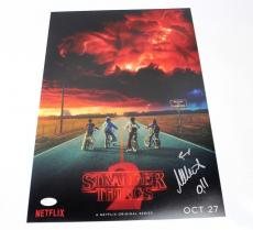 Millie Bobby Brown SIGNED STRANGER THINGS Season 2 Eleven 12x18 Photo JSA COA