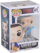 Millie Bobby Brown Stranger Things Autographed #421 Eleven with Eggos Funko - BAS