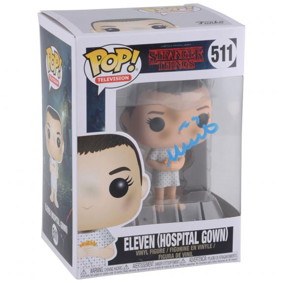 Millie Bobby Brown Stranger Things Autographed #511 Hospital Gown Funko - BAS