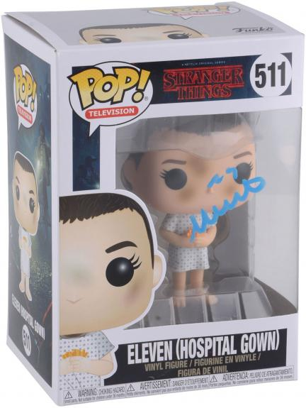 Millie Bobby Brown Stranger Things Autographed #421 Eleven with Eggos - BAS