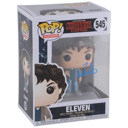 Millie Bobby Brown Stranger Things Autographed #545 Eleven Funko - BAS