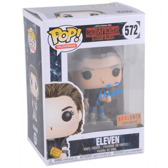 Millie Bobby Brown Stranger Things Autographed #572 Eleven Funko - BAS