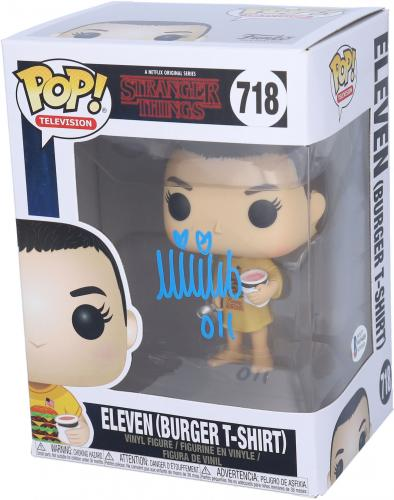 Millie Bobby Brown Stranger Things Autographed #718 Funko - BAS