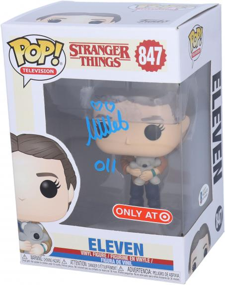 Millie Bobby Brown Stranger Things Autographed #847 Funko - BAS