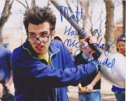Million Dollar Baby Jay Baruchel Signed Personalied To Matt  8x10 Photo