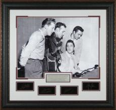 Million Dollar Quartet Laser Autographed Framed Photo