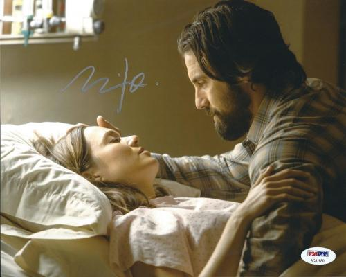 Milo Ventimiglia Signed 8x10 Photo *This Is Us PSA AC81680