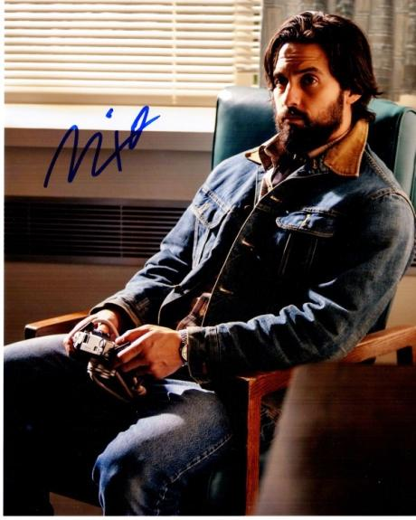 Milo Ventimiglia Signed - Autographed THIS IS US - Jack Pearson 8x10 inch Photo - Guaranteed to pass BAS