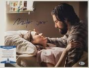 "MILO VENTIMIGLIA Signed ""Jack"" 11x14 Photo #3 THIS IS US Actor ~ BAS Beckett COA"