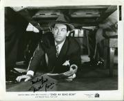 Milton Berle Over My Dead Body Signed Autograph Original Press Movie Photo