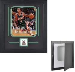 """Milwaukee Bucks Deluxe 8"""" x 10"""" Vertical Team Logo Frame"""
