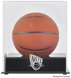New Jersey Nets Mini Basketball Display Case - Mounted Memories