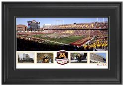 TCF Bank Stadium Minnesota Gophers Framed Panoramic Collage-Limited Edition of 500 - Mounted Memories