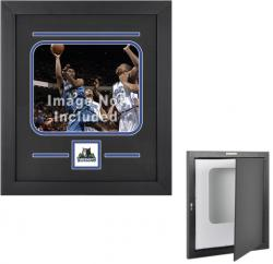 "Minnesota Timberwolves Deluxe 8"" x 10"" Horizontal Team Logo Frame"