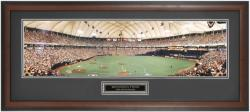 Minnesota Twins Homer Hanky Heaven ALDS Game 4 Framed Unsigned Panoramic Photograph with Suede Matte