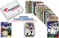 Minnesota Vikings Team Trading Card Block/50 Card Lot - Mounted Memories