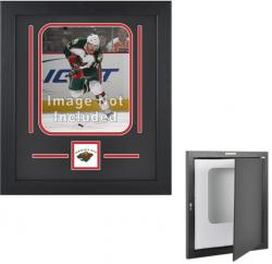 Minnesota Wild Vertical 8'' x 10'' Photo Display Case - Mounted Memories
