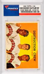 Minnie Minoso / Rocky Colavito / Lary Doby Cleveland Indians 1959 Topps #166 Card