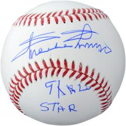 Minnie Minoso Chicago White Sox Autographed Baseball With 9X All Star Inscription