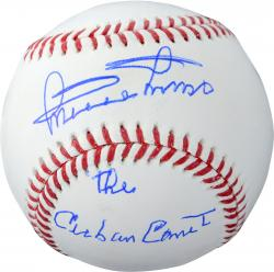 Minnie Minoso Chicago White Sox Autographed Baseball with Cuban Comet Inscription
