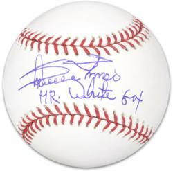 Minnie Minoso Chicago White Sox Autographed Baseball Mr. White Sox Inscription