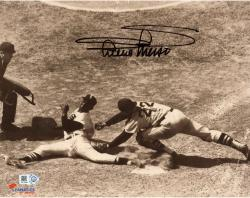 Minnie Minoso Chicago White Sox Autographed 8'' x 10'' Sliding Photograph With Mr. Sox Inscription
