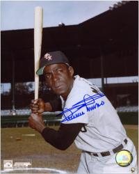 "Minnie Minoso Chicago White Sox Autographed 8"" x 10"" MLB Bat Pose Photograph"
