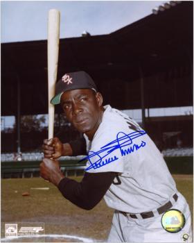 "Minnie Minoso Chicago White Sox Autographed 8"" x 10"" MLB Bat Pose Photograph"