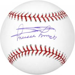 Minnie Minoso Autographed Baseball - Mounted Memories