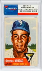 Minnie Minoso Orestes - 1953 topps 66 card - mounted memories