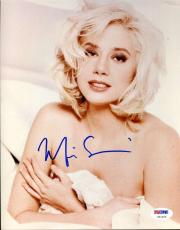 MIRA SORVINO Hand Signed PSA DNA MARILYN MONROE 8x10 Photo Autographed Authentic
