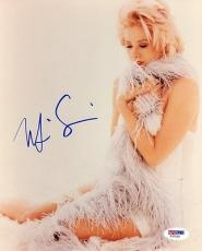 MIRA SORVINO SIGNED AUTOGRAPHED 8x10 PHOTO NORMA JEAN & MARILYN MONROE PSA/DNA