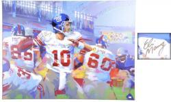 "New York Giants Eli Manning 36"" x 48"" Giclee"