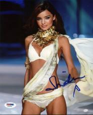 Miranda Kerr Victoria's Secret Signed 8x10 Photo Psa/dna #y42933