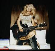 Autographed Miranda Lambert Photo - 11 x 14 Platinum Over You PSA DNA AB62611
