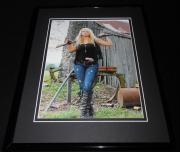 Miranda Lambert with gun Framed 11x14 Photo Display