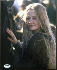 Autographed Miranda Photo - Otto 8x10 Psa Dna Coa Lord Of The Rings