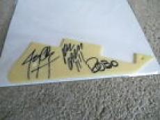 Misfits Signed Autograph Electric Les Paul Guitar Pickguard Jerry Dez Robox3 #1