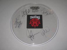 Miss May I Group Signed Drumhead Deathless Rise Of A Lion Gone Levi Benton COA
